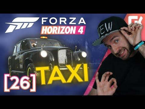 TAXIKÁŘ SYNÁTOR! | Forza Horizon 4 #26