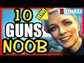 10 GUNS NOOBS THINK ARE BAD - ARE YOU A NOOB? #2 (10 Weapons COD Zombies...