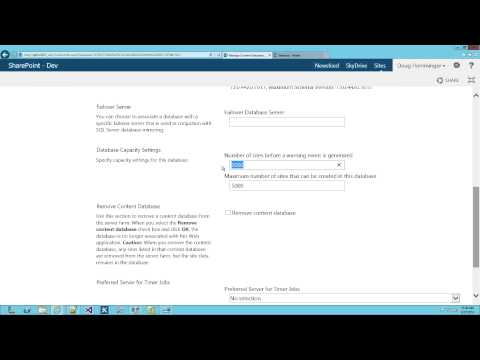 SharePoint 2013 Tutorial: Administration and Architecture Overview ...
