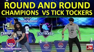 Round And Round  | Game Show Aisay Chalay GaLeague| TickTock Vs Champion