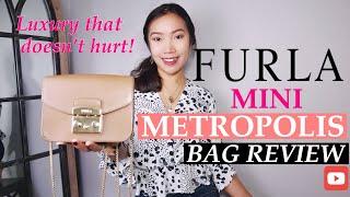 FURLA METROPOLIS MINI REVIEW | FURLA MINI CROSSBODY BAG REVIEW
