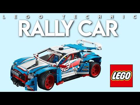 Vidéo LEGO Technic 42077 : La voiture de rallye
