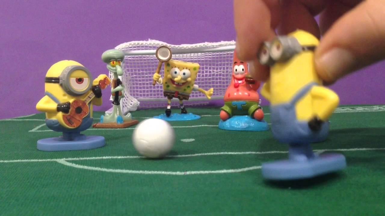Fútbol: Bob Esponja y amigos VS Minioms