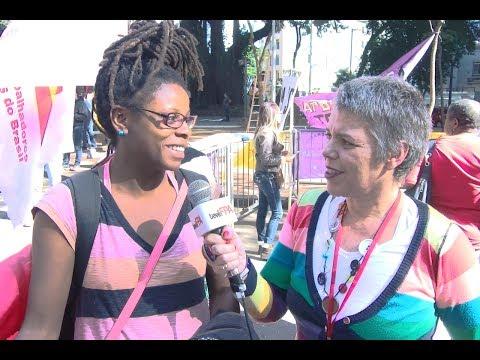 Mulheres pelas diretas e por direitos   Entrevista com Analuta Maciel