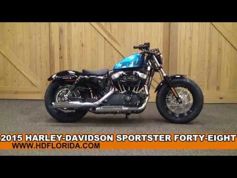 New 2015 Harley Davidson Sportster Forty-Eight Motorcycles for sale in New Color