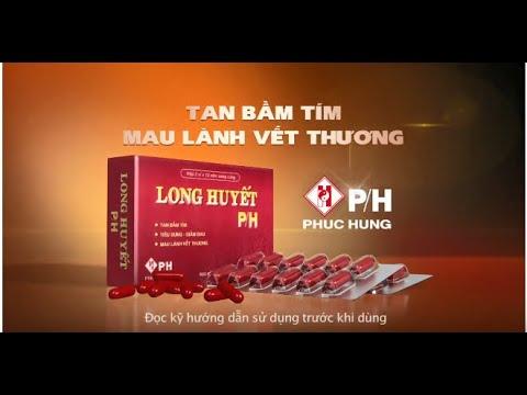 Thuốc thảo dược Long huyết PH có tác dụng gì?