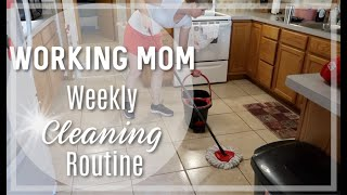 WEEKLY HOME BLESSING FOR WORKING MOMS  | FlyLady CLEANING System | FlyLady Cleaning Routines