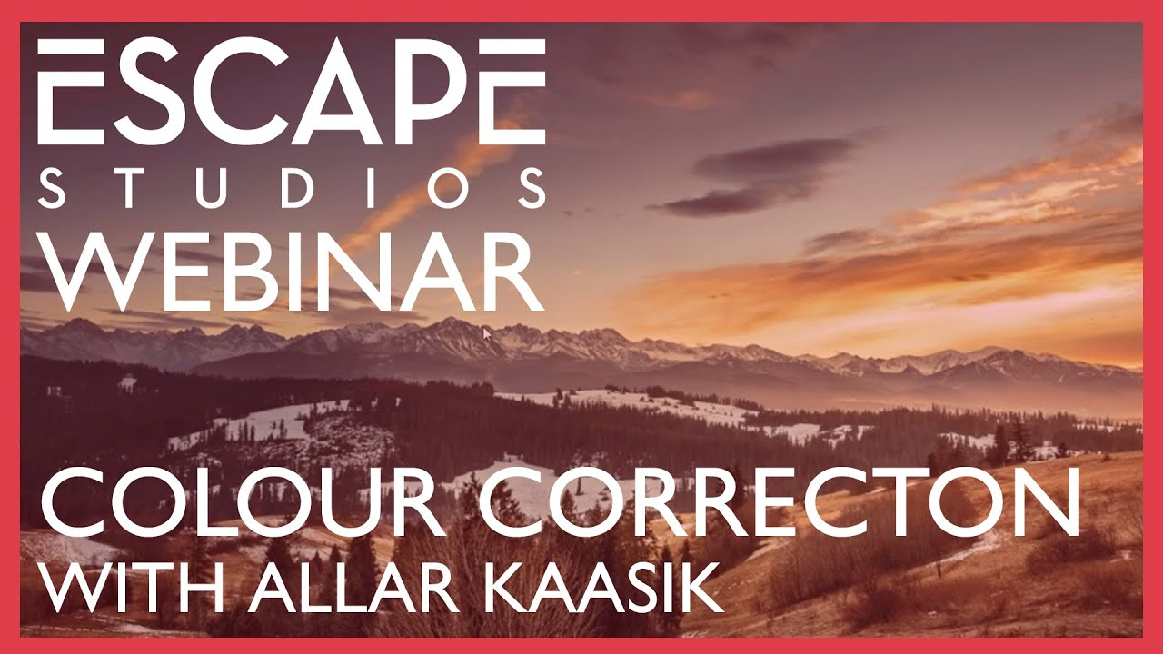 Colour Correction Webinar - Can I Cope With The Scope?