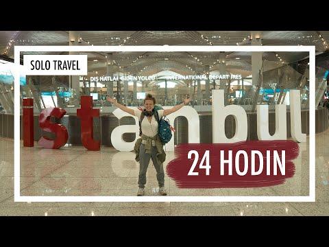24 hodin sama v Istanbulu | SOLO TRAVEL | Weef