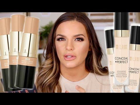 I TRIED OUT A NEW $10 DRUGSTORE FOUNDATION AND CONCEALER… WEAR TEST REVIEW  | Casey Holmes