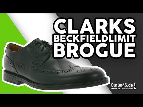 Clarks Beckfieldlimit Herren Business Schuhe DEUTSCH l Review l On feet l Haul l Overview l Outlet46