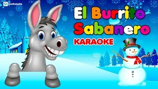 Mi Burrito Sabanero Karaoke /El Burrito de Bélen /Villancicos/ Musica Navideña/ Tuqui tuqui mix/Kids