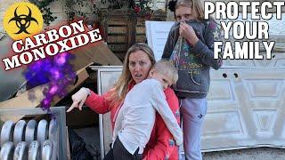 POISONOUS Carbon Monoxide Leak! || Mommy Monday