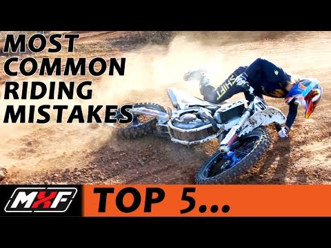 Top 5 Most Common Motocross Riding Mistakes – Learn Dirt Bike Skills!!
