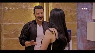 قعدة رجالة - عبير صبري لــ باسل خياط : انا أول مره أروح عند حد متأخر أوي كدة