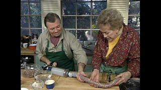 Julia Child & Jacques Pepin - Sausage