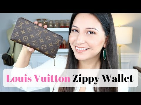 LOUIS VUITTON ZIPPY WALLET – Review, Wear and Tear and WIMB | LuxMommy