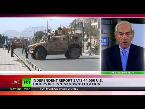 'US govt equates American people to enemy when it hides troops' whereabouts' – Ron Paul