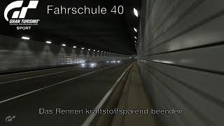 Gran Turismo Sport - Fahrschule 40 - Das Rennen kraftstoffsparend beenden