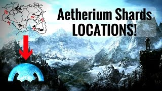Aetherium Shard Locations (Lost to the Ages Quest) - Skyrim REMASTERED