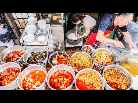 UNSEEN Chinese Street Food BREAKFAST TOUR in DEEP Sichuan, China | STREET FOOD Tour through China!