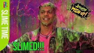 Nate from The Wonderland gets slimed!