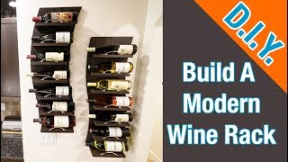 How To Build A Modern Wine Rack