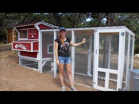 , title : 'DIY Chicken Coop Run   How To Build