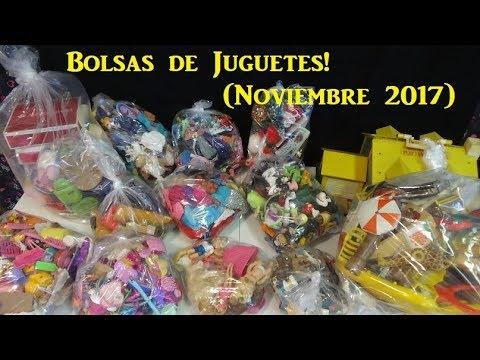 Encontre Muchissimas Bolsas de Juguetes!! (Noviembre 2017)