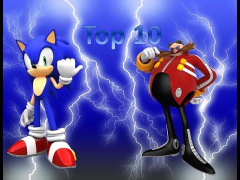 Top 10 Favorite Sonic Boss Battles (Sonic Month 2016)