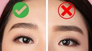 EYEBROWS DOS AND DON'TS : MISTAKES TO AVOID   MONGABONG