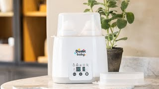 Dualit's Single & Double Baby Bottle Warmers preview