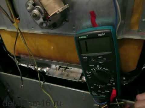 Замена тэна в духовке электроплиты ARDO