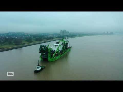 LNG-powered Cutter Suction Dredger SPARTACUS