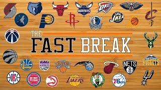 Lakers Problems/Top 10 NBA Players/R.J. Barrett v. Ja Morant - The Fast Break, 3/14/19