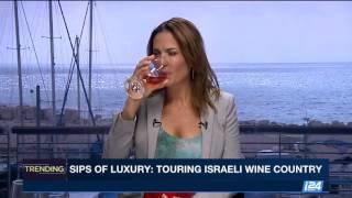 Live! The wine side on I24 news
