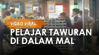 Video Viral Pelajar Tawuran di Dalam Mal, Polisi Razia Sekolah