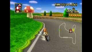 [MKW WR] N64 Mario Raceway (w/ Mach Bike) - 01:41.624
