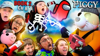 New AMONG US GhostBusters MOD + ROBLOX Piggy Book 2 Chapter 8 INSANITY 🤪 (The SHIP Gameplay)