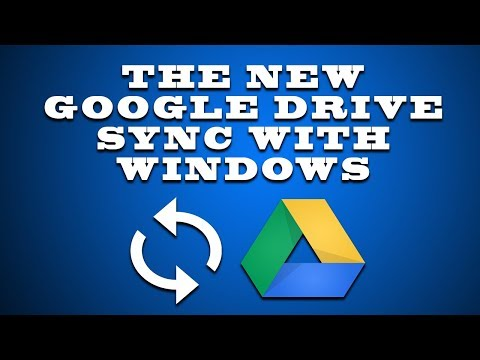 THE NEW GOOGLE DRIVE SYNC WITH WINDOWS COMPUTER 2018 Mp3