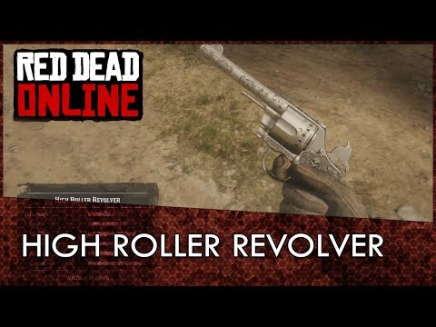 Red Dead Redemption 2 Online High Roller Revolver: How to