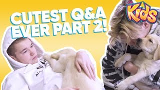 The Cutest Marcus & Martinus Q&A EVER! PART 2  | 5 Apr 2018 - Filtr Kids - Click For Subs [ENG]