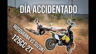 Probamos La Husqvarna 125cc 2t En Circuito!! Caídas Varias...🤣