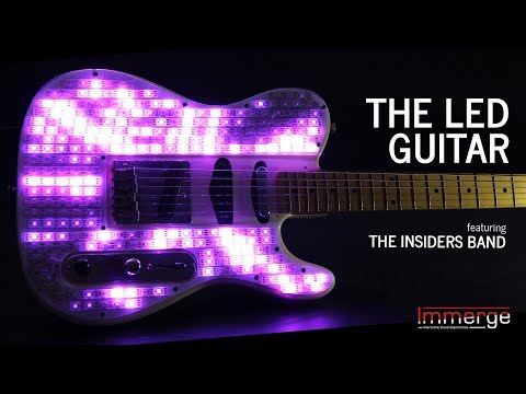 Lighting Up an Electric Guitar with LEDs