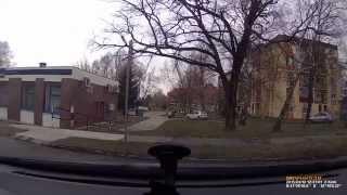 preview picture of video 'Mio MiVue 538  Oroszlány borult idő'