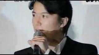 福山雅治・吉高由里子映画「真夏の方程式」初日舞台挨拶6月29日