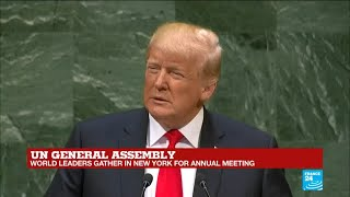 UN General Assembly: Watch Donald Trump's full address