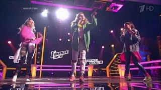 The Voice Kids RU 2017 Sofia M, Sofia F and Victoria — «Bang Bang» Battles | Голос Дети 4. Поединки