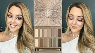 NEW! Urban Decay Naked Ultimate Basics Palette|Review and Tutorial