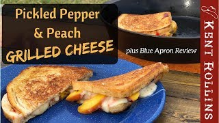 Grilled Cheese Sandwich - Pickled Pepper and Peach Recipe